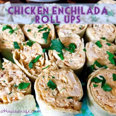 ChickenEnchiladaRollUps