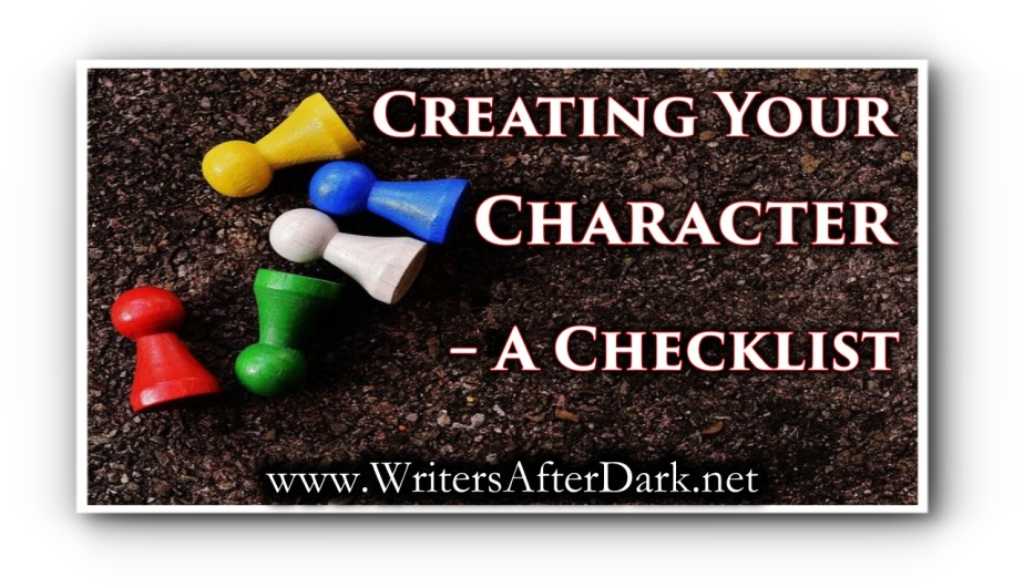 Creating Your Character – A Checklist