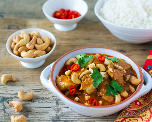 Chicken and Cashew Mussamam Curry