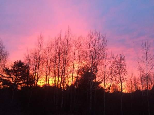 Sunrise in Reed City Michigan by Ramona Seath-Lubke