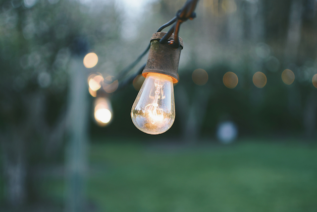 three line tales week 64: light bulbs – there is a light that never goes out, maybe