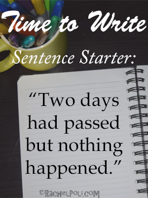 Writing Prompt   First line