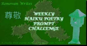 Ronovan Writes Haiku Challenge Image 2016