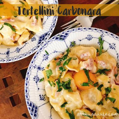 TortelliniCarbonara