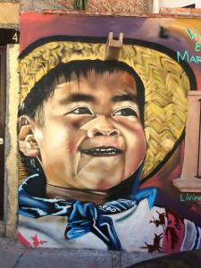 street art, San Miguel de Allende, Mexico, paintings, street paintings,