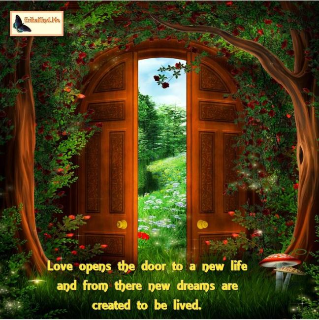 Love opens the door to a new life.JPG