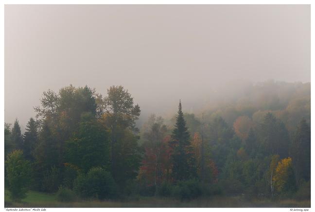 """September Lakeshore"" Marble Lake"