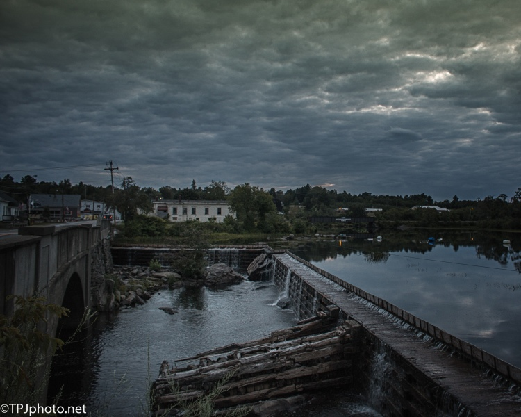 Evening In Milo Maine - Click To Enlarge