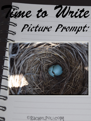 Time to write, writing prompt: picture prompt
