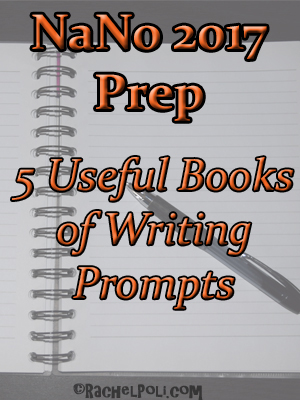 5 useful books of writing prompts