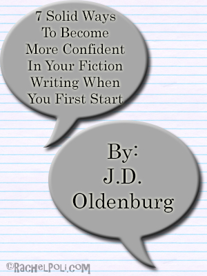 Guest post by author JD Oldenburg