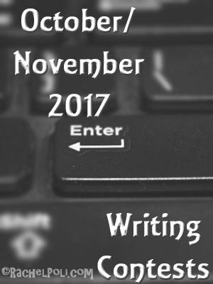 October/November 2017 Writing Contests