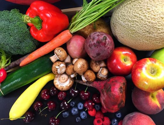 Blueberries, Apples, Melon, Carrots, Vegetables, Fresh, Food, Cooking