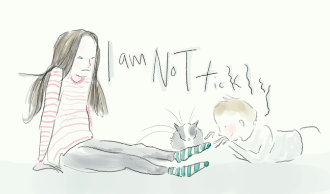 I am not tickly