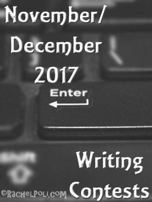 November/December 2017 Writing Contests
