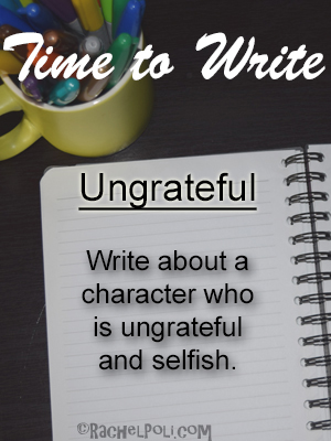 Time to write, writing prompt