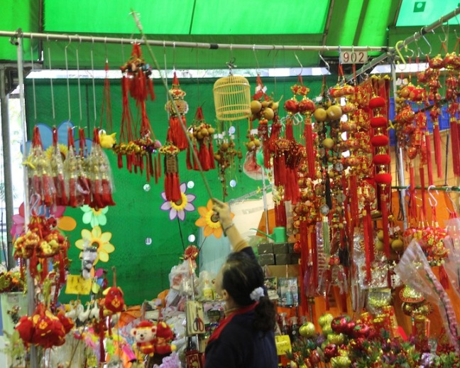 Decorations, Taipei Taiwan flower market
